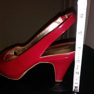 Anne Klein Shoes - Anne Klein Red Heels